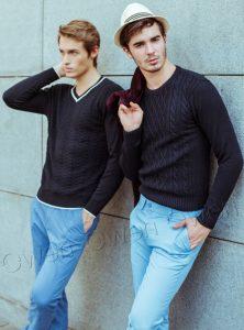 Phong cách lịch lãm cùng áo len Owen