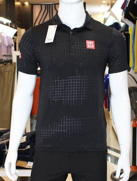 Bộ thể thao Uniqlo đen Kei Nishikori 2015
