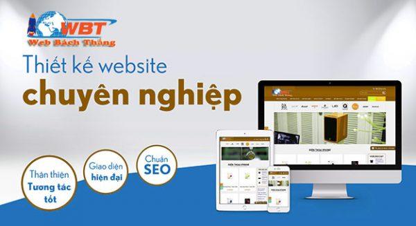 Thiết kế website chuyên nghiệp uy tín ấn tượng giá cạnh tranh