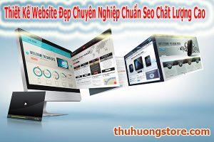 Thiết Kế Website Đẹp Chuyên Nghiệp Chuẩn Seo Chất Lượng Cao