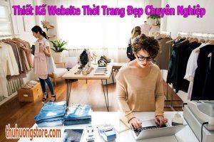 Thiết Kế Website Thời Trang Đẹp Chuyên Nghiệp