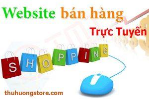 Thiết kế website bán hàng trực tuyến Uy Tín Chuẩn Seo