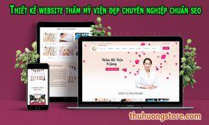 Thiết kế website thẩm mỹ viện đẹp chuyên nghiệp chuẩn seo