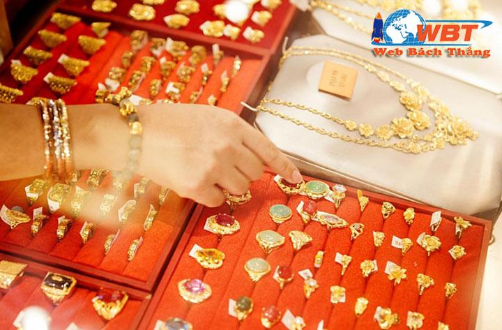 Thiết kế website trang sức, vàng bạc đá quý chuyên nghiệp